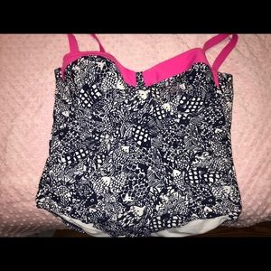 Lily Pulitzer for target swimsuit. 22W. NWOT